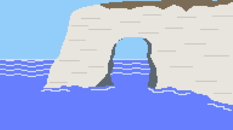 Étretat : les falaises